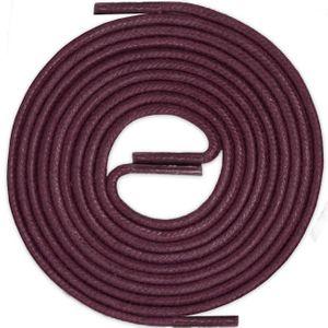 WEINROT Durchmesser 2 mm Gewachste Schnürsenkel