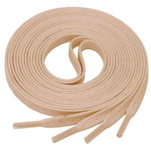 FUCHSIA Flat Waxed Shoelaces width 4 mm